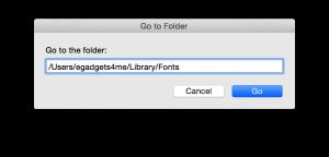 Install Font in Mac OSX